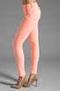 Image 2 of J Brand Twill Skinny in Neon Coral