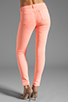 Image 3 of J Brand Twill Skinny in Neon Coral