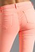 Image 6 of J Brand Twill Skinny in Neon Coral