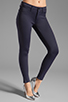 Image 1 of J Brand Neoprene Skinny in Navy Odessy