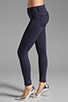 Image 2 of J Brand Neoprene Skinny in Navy Odessy