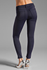 Image 3 of J Brand Neoprene Skinny in Navy Odessy