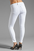 Image 3 of J Brand Roz Mid Rise Stitch Skinny in Blanc