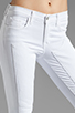 Image 4 of J Brand Roz Mid Rise Stitch Skinny in Blanc