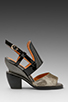 Image 2 of Jeffrey Campbell Sybil in Black Pewter/Black Suk