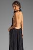 Image 1 of Jen's Pirate Booty Margarita Halter Dress in Black