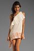 Image 1 of Jen's Pirate Booty Half Moon Bay Mini Dress in Summer Quartz/Cinnamon Edge Dye