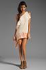 Image 2 of Jen's Pirate Booty Half Moon Bay Mini Dress in Summer Quartz/Cinnamon Edge Dye