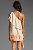 Image 4 of Jen's Pirate Booty Half Moon Bay Mini Dress in Summer Quartz/Cinnamon Edge Dye