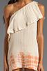 Image 5 of Jen's Pirate Booty Half Moon Bay Mini Dress in Summer Quartz/Cinnamon Edge Dye