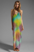 Image 1 of Jen's Pirate Booty Zumirez Maxi Dress in Flashback Bright Tie Dye