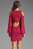 Image 4 of James & Joy Faith Dress in Burgundy