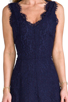 Image 5 of Joie Allover Lace Nikolina B Dress in Royal Navy