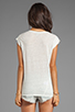 Image 2 of Joie Yulina Linen Tee in Porcelain