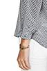 Image 5 of Joie Ting Long Diamond Printed Savory Silk Hanelli Top in Dark Grey