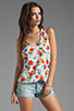 Image 1 of Joie Rain B Floral Tank in Carrot