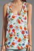 Image 3 of Joie Rain B Floral Tank in Carrot