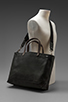 Image 7 of Jack Spade Blackboard Canvas Coal Bag in Charcoal