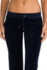 Image 4 of Juicy Couture Velour Bootcut Pant with Snap Pockets in Regal