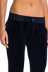 Image 5 of Juicy Couture Velour Bootcut Pant with Snap Pockets in Regal