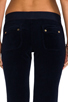 Image 6 of Juicy Couture Velour Bootcut Pant with Snap Pockets in Regal