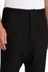 Image 4 of Kai-aakmann Drop Trouser in Black