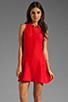 Image 1 of Kain Sofie Dress in Fire Orange