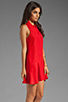 Image 3 of Kain Sofie Dress in Fire Orange