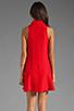 Image 4 of Kain Sofie Dress in Fire Orange