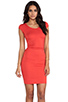 Image 1 of Kain Ari Dress in Fire Orange
