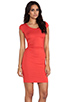Image 3 of Kain Ari Dress in Fire Orange