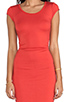 Image 5 of Kain Ari Dress in Fire Orange