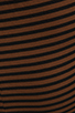 Image 6 of Kain 1x1 Miika Dress in Cinnamon/Black Stripe