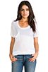 Image 1 of Kain Classic Pocket Tee in White