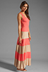 Image 3 of Karina Grimaldi Biscot Maxi Tank Dress Coral