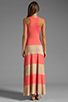 Image 4 of Karina Grimaldi Biscot Maxi Tank Dress Coral