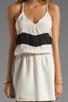 Image 5 of Karina Grimaldi Magnolia Combo Mini in Cream Black