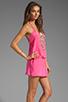Image 3 of Karina Grimaldi Freeport Beaded Mini in Pink