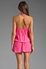 Image 4 of Karina Grimaldi Freeport Beaded Mini in Pink