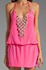 Image 5 of Karina Grimaldi Freeport Beaded Mini in Pink
