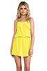 Image 1 of Karina Grimaldi Raffaela Solid Mini in Neon Yellow
