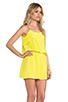 Image 3 of Karina Grimaldi Raffaela Solid Mini in Neon Yellow