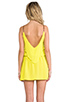 Image 4 of Karina Grimaldi Raffaela Solid Mini in Neon Yellow