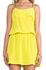 Image 5 of Karina Grimaldi Raffaela Solid Mini in Neon Yellow