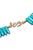 Image 3 of Kenneth Jay Lane Turquoise Spike Necklace