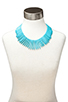 Image 4 of Kenneth Jay Lane Turquoise Spike Necklace