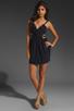 Image 2 of keepsake Secret Dancer Dress in Navy/Black