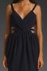 Image 3 of keepsake Secret Dancer Dress in Navy/Black