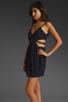 Image 4 of keepsake Secret Dancer Dress in Navy/Black