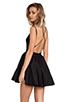 Image 1 of keepsake Perfect Stranger Dress in Black